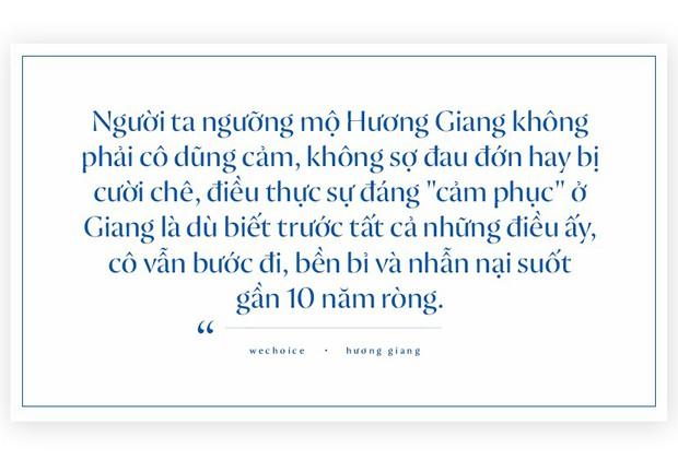 Câu chuyện Hương Giang không chỉ là nỗ lực của một cô hoa hậu, đó chính là hành trình sống đúng với chính mình - Ảnh 6.