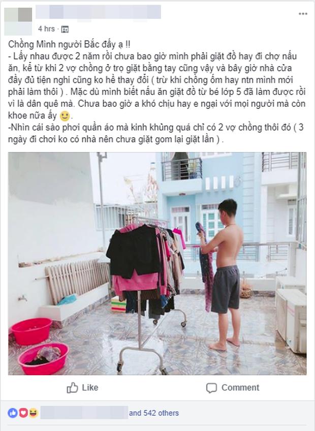 Cô vợ trẻ khoe chồng đảm, suốt 2 năm không phải nấu cơm giặt giũ khiến chị em đỏ mắt ghen tị - Ảnh 1.