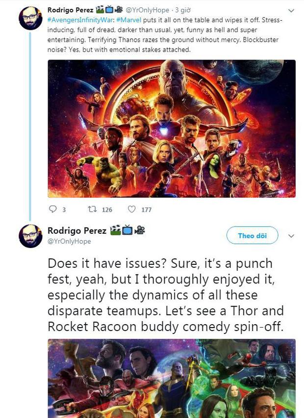 Nửa bán cầu bên kia đã tiếp cận bom tấn Avengers: Infinity War rồi, đoán xem họ nói gì? - Ảnh 1.