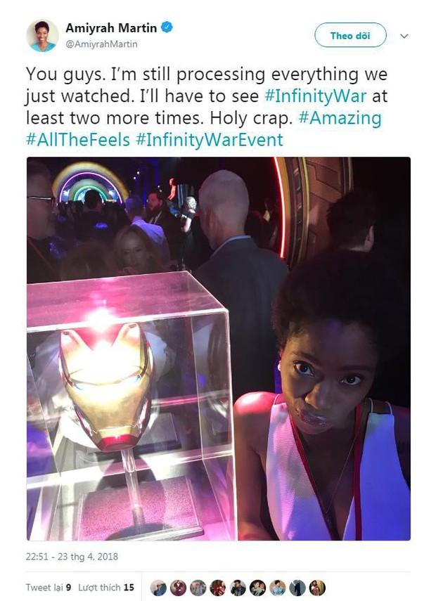Nửa bán cầu bên kia đã tiếp cận bom tấn Avengers: Infinity War rồi, đoán xem họ nói gì? - Ảnh 11.