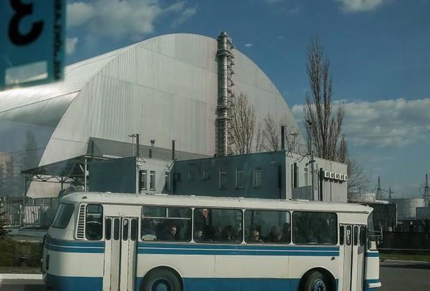 Ám ảnh bên trong nhà máy điện hạt nhân Chernobyl sau hơn 30 năm - Ảnh 17.