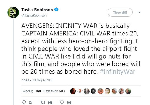 Nửa bán cầu bên kia đã tiếp cận bom tấn Avengers: Infinity War rồi, đoán xem họ nói gì? - Ảnh 3.
