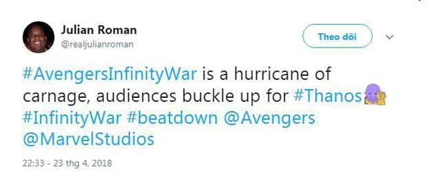 Nửa bán cầu bên kia đã tiếp cận bom tấn Avengers: Infinity War rồi, đoán xem họ nói gì? - Ảnh 7.