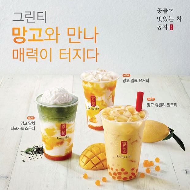 Hàn Quốc lại có món Gong cha mới từ xoài đang khiến cư dân mạng đứng ngồi không yên - Ảnh 1.