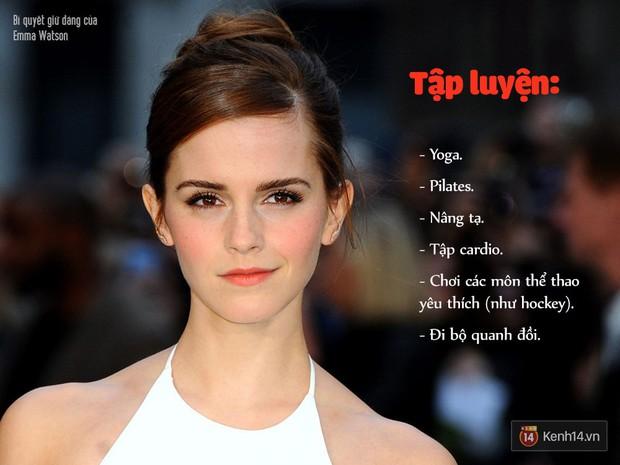 Bí quyết gì đã giúp cô phù thủy Emma Watson luôn giữ được thân hình quyến rũ mà không cần ăn kiêng? - Ảnh 8.