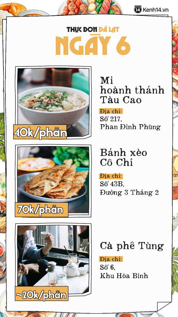 Đã có hẳn cẩm nang 7 ngày ăn ở Đà Lạt đây này, đi chơi chẳng lo phải nghĩ ngợi ăn gì ở đâu nữa - Ảnh 13.