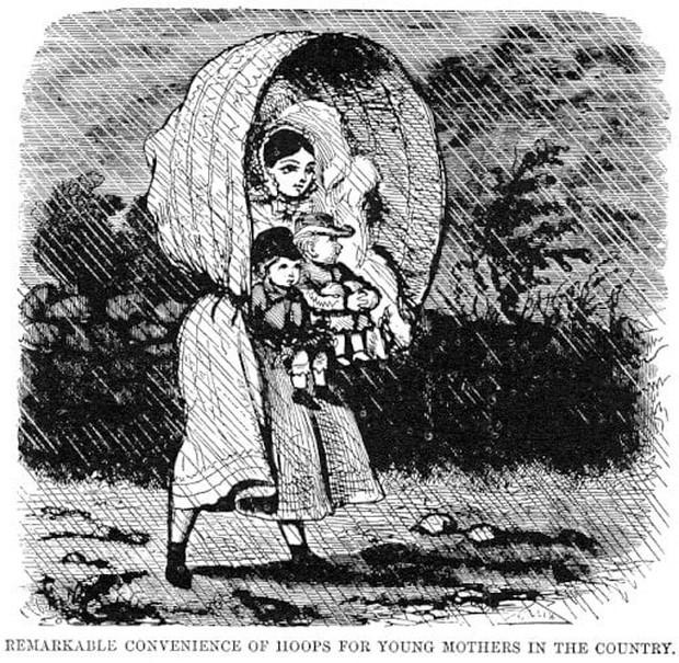 Thảm họa thời trang thế kỷ 19: Hàng loạt phụ nữ bị thiêu sống vì bộ váy thời thượng này - Ảnh 3.