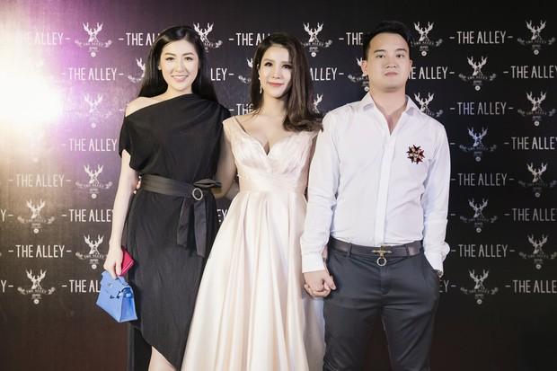 Diệp Lâm Anh cùng dàn Hoa hậu, Á hậu hội ngộ tại sự kiện khai trương trà sữa The Alley Hà Nội - Ảnh 2.