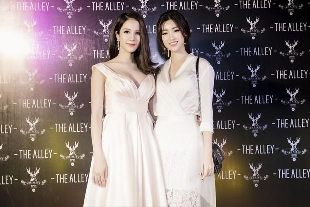 Diệp Lâm Anh cùng dàn Hoa hậu, Á hậu hội ngộ tại sự kiện khai trương trà sữa The Alley Hà Nội - Ảnh 6.