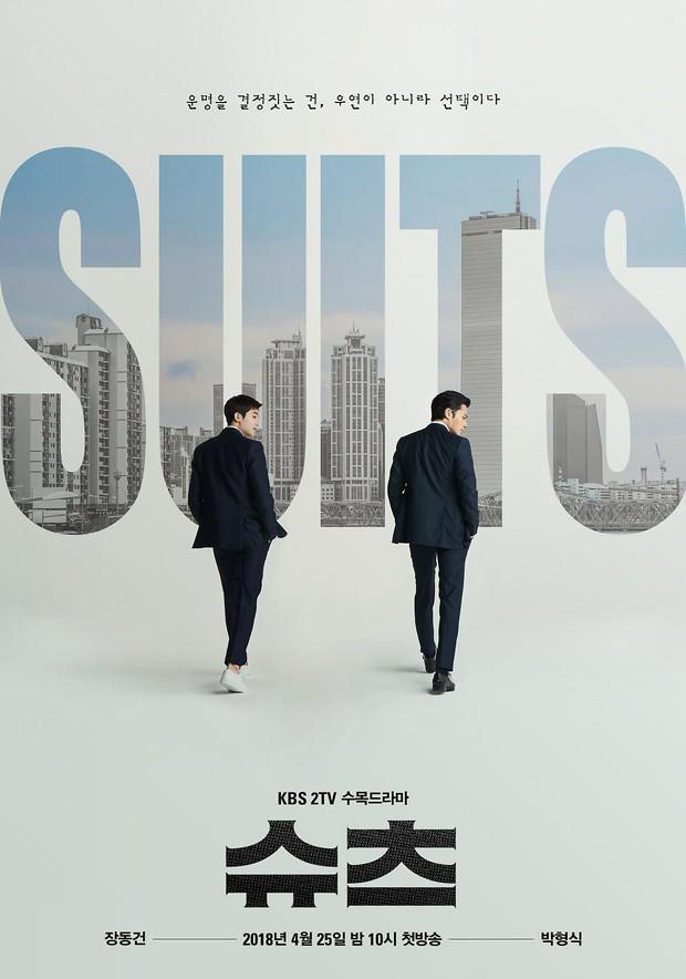 Suits: Hại não người xem, ghi điểm nhờ cặp chú cháu Jang Dong Gun – Park Hyung Sik - Ảnh 1.