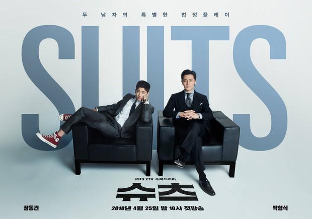 Suits: Hại não người xem, ghi điểm nhờ cặp chú cháu Jang Dong Gun – Park Hyung Sik - Ảnh 4.