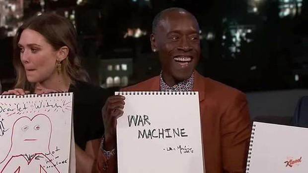 Các ngôi sao của Avengers: Infinity War đóng phim đánh nhau rất giỏi, nhưng kĩ năng vẽ vời thì chưa chắc - Ảnh 8.