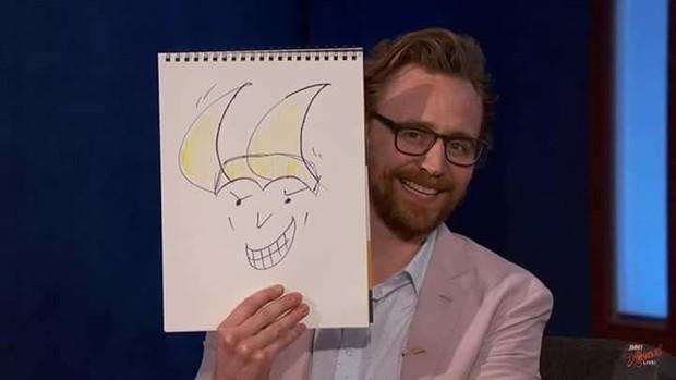 Các ngôi sao của Avengers: Infinity War đóng phim đánh nhau rất giỏi, nhưng kĩ năng vẽ vời thì chưa chắc - Ảnh 3.
