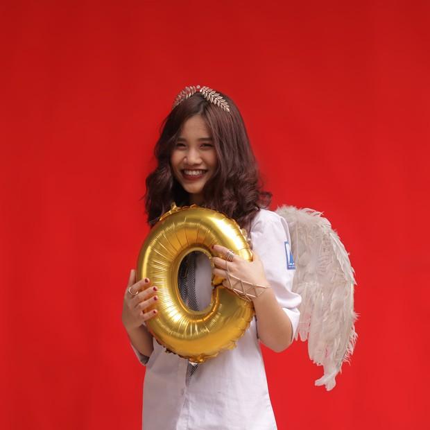 Con gái Ams mặc đồng phục: Xinh đúng chuẩn cô gái năm ấy chúng ta cùng theo đuổi - Ảnh 5.