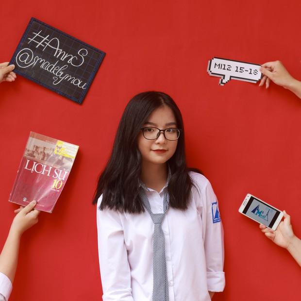 Con gái Ams mặc đồng phục: Xinh đúng chuẩn cô gái năm ấy chúng ta cùng theo đuổi - Ảnh 8.