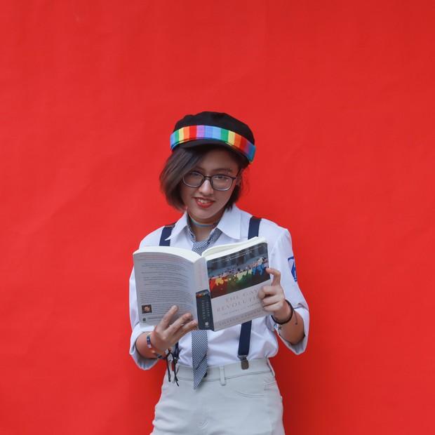 Con gái Ams mặc đồng phục: Xinh đúng chuẩn cô gái năm ấy chúng ta cùng theo đuổi - Ảnh 3.