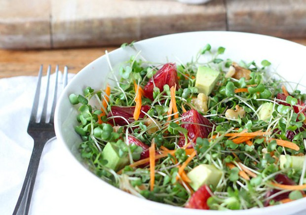 Ngọc Trinh chia sẻ món salad rau mầm với 8 lợi ích đẹp tóc đẹp da ai cũng phải thích - Ảnh 6.