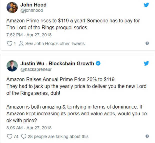 Vừa chịu chi hơn 1 tỉ đô cho siêu bom tấn truyền hình Chúa Nhẫn, Amazon tăng ngay bảng giá? - Ảnh 2.