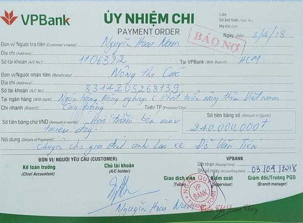 Một người giấu mặt gửi tiền vào tài khoản của doanh nhân Nguyễn Hoài Nam, muốn được chia sẻ niềm vui và trách nhiệm giúp đỡ tài xế Tiến - Ảnh 4.