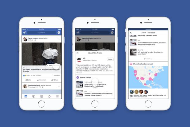 Facebook sắp có tính năng tự phát hiện tin tức giả mạo - Ảnh 2.