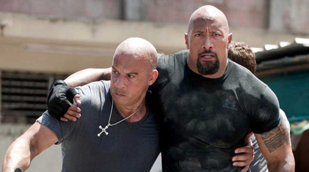 """Quá mâu thuẫn, The Rock không thèm quay cảnh nào chung với Vin Diesel trong """"Fast and Furious"""" nữa - Ảnh 1."""