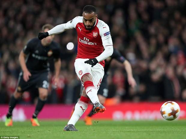 Ramsey lập cú đúp, Arsenal đặt một chân vào bán kết Europa League - Ảnh 6.