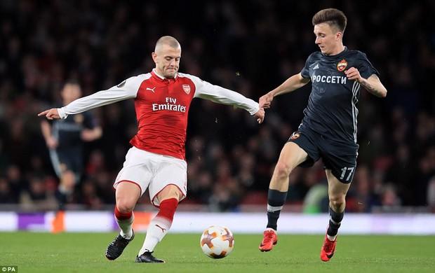 Ramsey lập cú đúp, Arsenal đặt một chân vào bán kết Europa League - Ảnh 2.