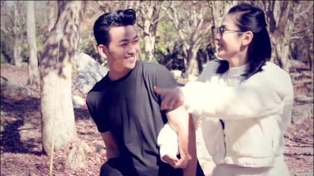 Minh Tuấn A# diễn xuất tình cảm cùng người đẹp Tây Đô Việt Trinh trong dự án trở lại - Ảnh 2.