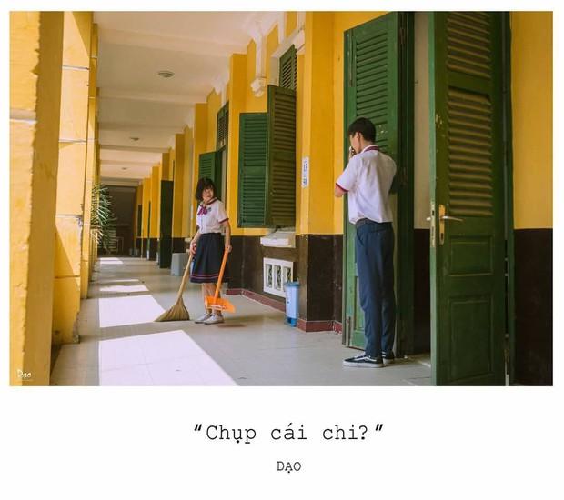 Tan chảy với bộ ảnh Gửi thời đẹp đẽ đơn thuần của chúng ta phiên bản Việt của cặp đôi trường Trưng Vương - Ảnh 10.