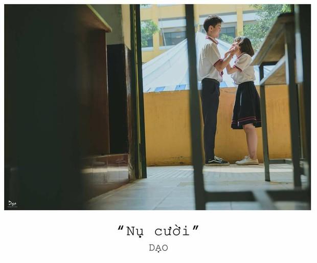 Tan chảy với bộ ảnh Gửi thời đẹp đẽ đơn thuần của chúng ta phiên bản Việt của cặp đôi trường Trưng Vương - Ảnh 11.
