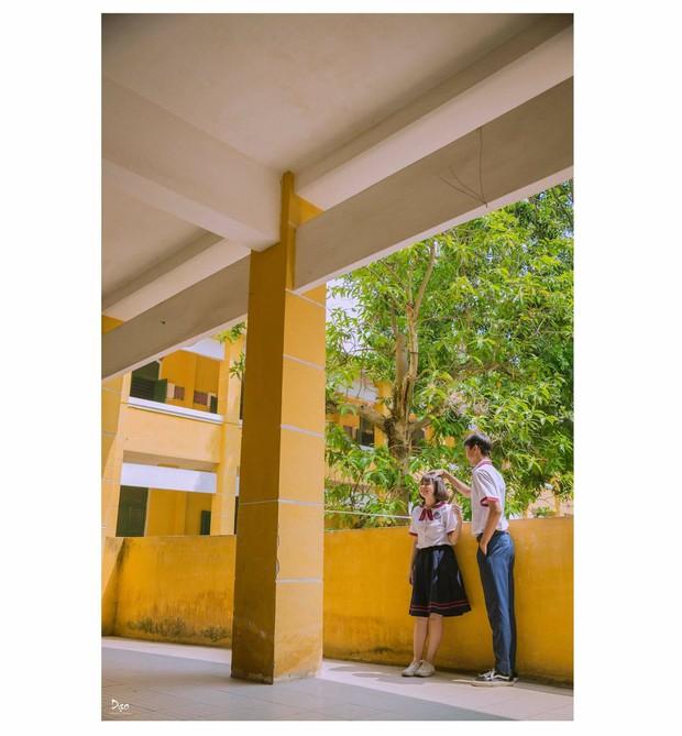 Tan chảy với bộ ảnh Gửi thời đẹp đẽ đơn thuần của chúng ta phiên bản Việt của cặp đôi trường Trưng Vương - Ảnh 13.