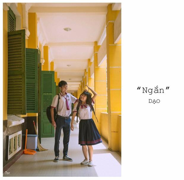Tan chảy với bộ ảnh Gửi thời đẹp đẽ đơn thuần của chúng ta phiên bản Việt của cặp đôi trường Trưng Vương - Ảnh 2.