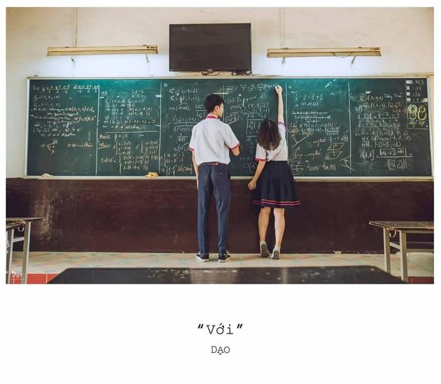 Tan chảy với bộ ảnh Gửi thời đẹp đẽ đơn thuần của chúng ta phiên bản Việt của cặp đôi trường Trưng Vương - Ảnh 3.