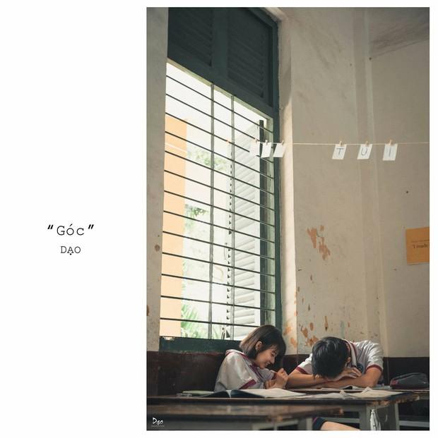 Tan chảy với bộ ảnh Gửi thời đẹp đẽ đơn thuần của chúng ta phiên bản Việt của cặp đôi trường Trưng Vương - Ảnh 4.