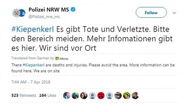 Nóng: Xe bán tải lao vào đám đông ở Đức, hơn 30 người thương vong, tài xế tự sát - Ảnh 2.