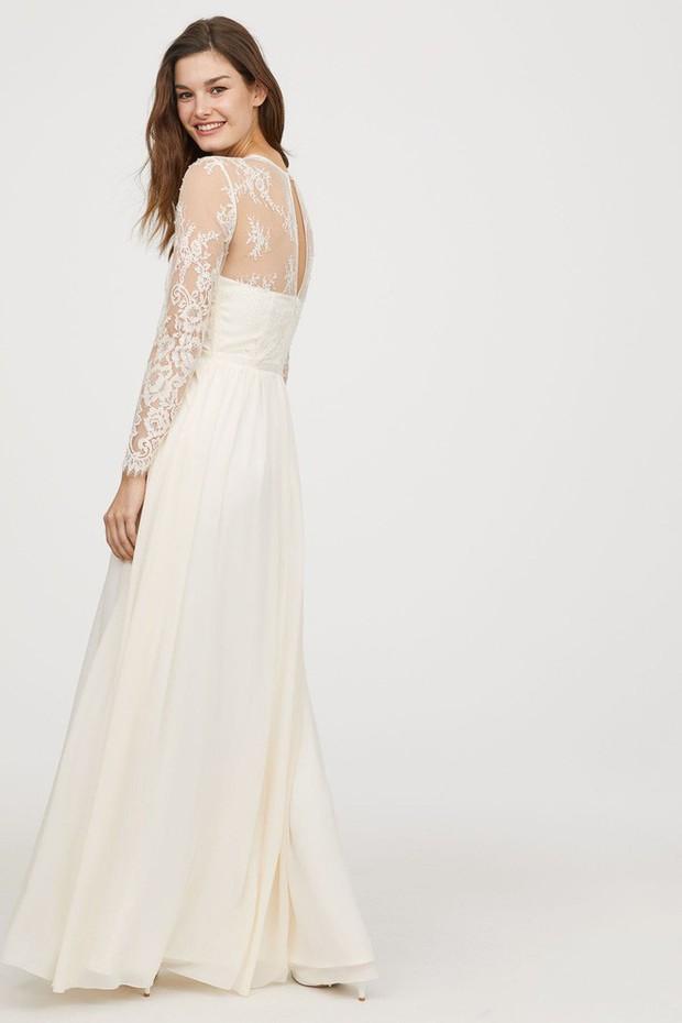 Mê chiếc váy cưới xa xỉ của Công nương Kate, các cô dâu tương lai đã có lựa chọn bình dân hơn từ BST mới nhất của H&M  - Ảnh 6.