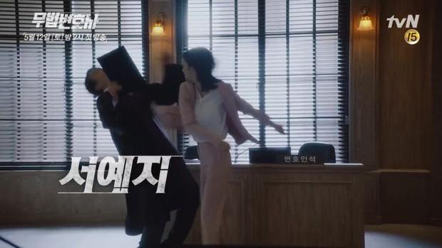 Fan xuýt xoa khi nữ chính mới của Lee Jun Ki còn... ngầu hơn cả anh - Ảnh 4.
