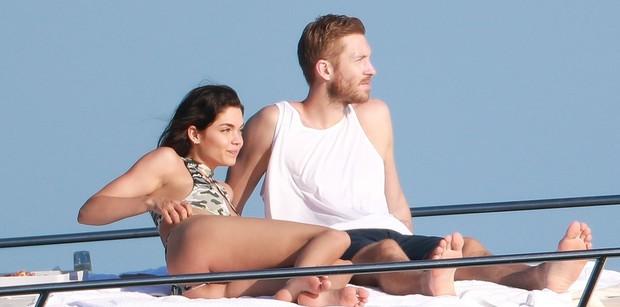 Calvin Harris tái hợp bạn gái cũ xinh đẹp, chân dài nhưng đó không phải là Taylor Swift - Ảnh 8.