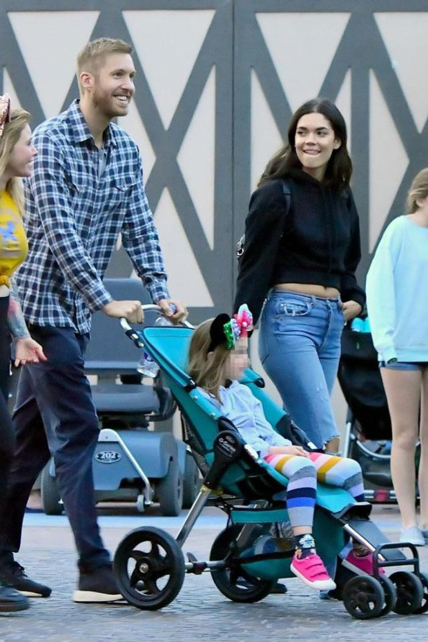 Calvin Harris tái hợp bạn gái cũ xinh đẹp, chân dài nhưng đó không phải là Taylor Swift - Ảnh 1.