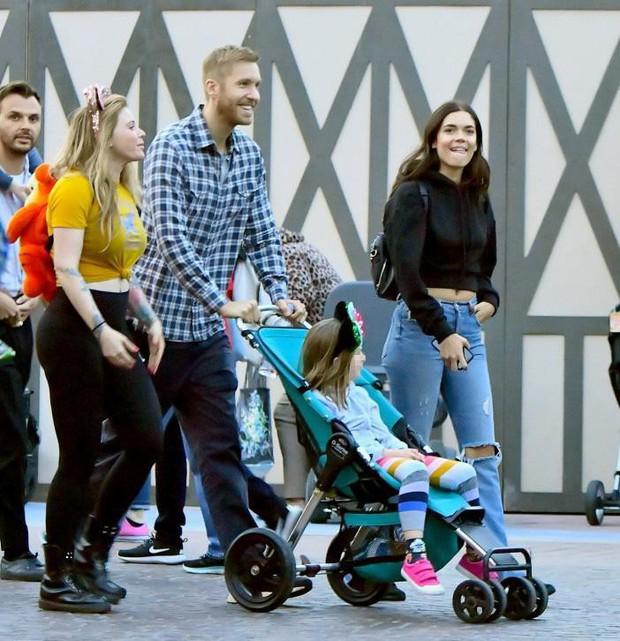 Calvin Harris tái hợp bạn gái cũ xinh đẹp, chân dài nhưng đó không phải là Taylor Swift - Ảnh 3.