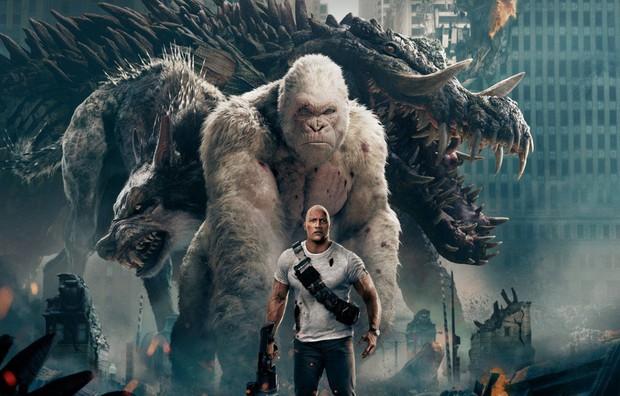 Rampage: 3 điều cần biết trước khi vật nhau với siêu thú cùng The Rock - Ảnh 4.