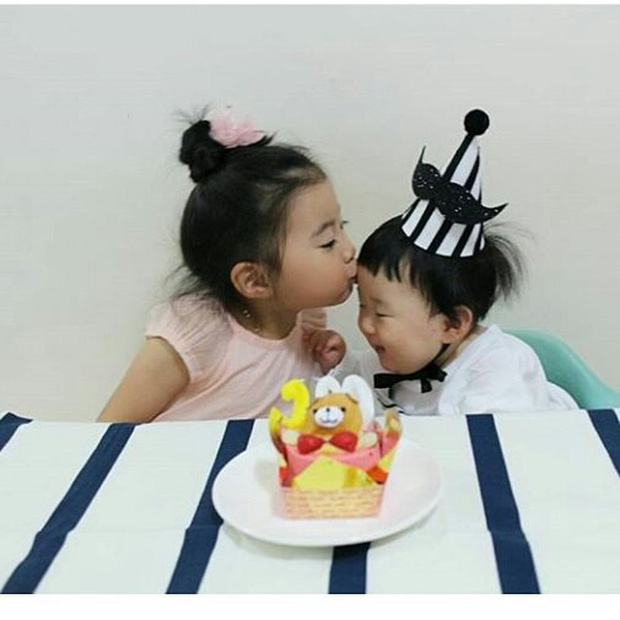 Những nhóc tỳ Hàn Quốc đình đám trên Instagram: Đáng yêu và hot ngang ngửa các Instagramer nổi tiếng xứ Kim Chi - Ảnh 5.