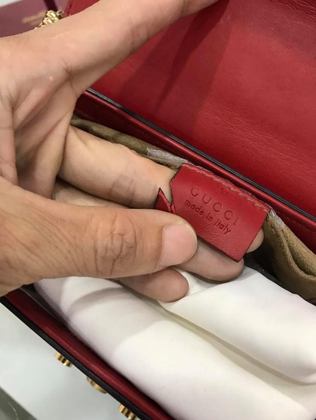 Chuyên gia kiểm tra hàng hiệu không có tâm: Dùng kéo cắt túi xem có đúng da thật hay không!? - Ảnh 1.