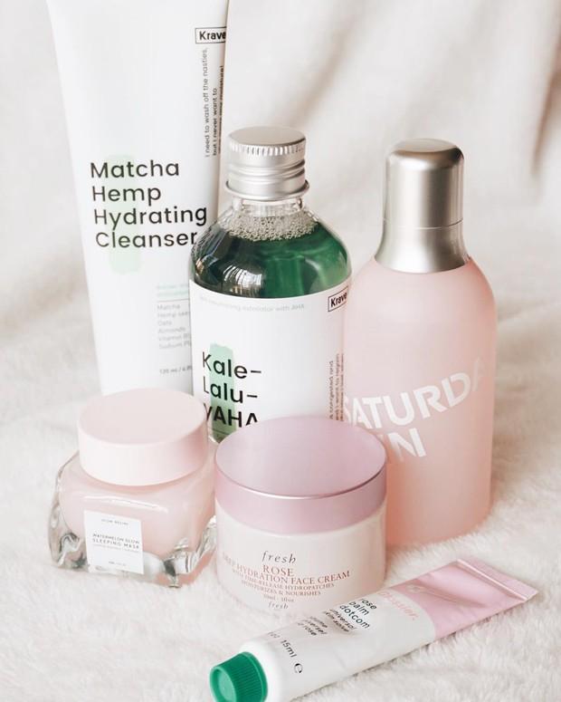 Mặt nạ màu hồng siêu xinh, thơm nức mùi dưa hấu giúp da căng bóng chỉ sau một đêm này đang là chân ái của nhiều cô nàng trên Instagram - Ảnh 7.