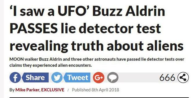 Người thứ 2 đặt chân lên Mặt trăng từng tuyên bố nhìn thấy người ngoài hành tinh, vượt qua được cả máy nói dối - sự thật là thế nào? - Ảnh 1.