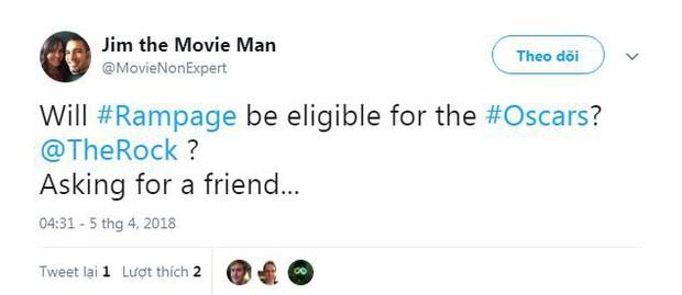 Phim về quái thú khổng lồ Rampage của The Rock được giới phê bình ca ngợi hết lời - Ảnh 4.