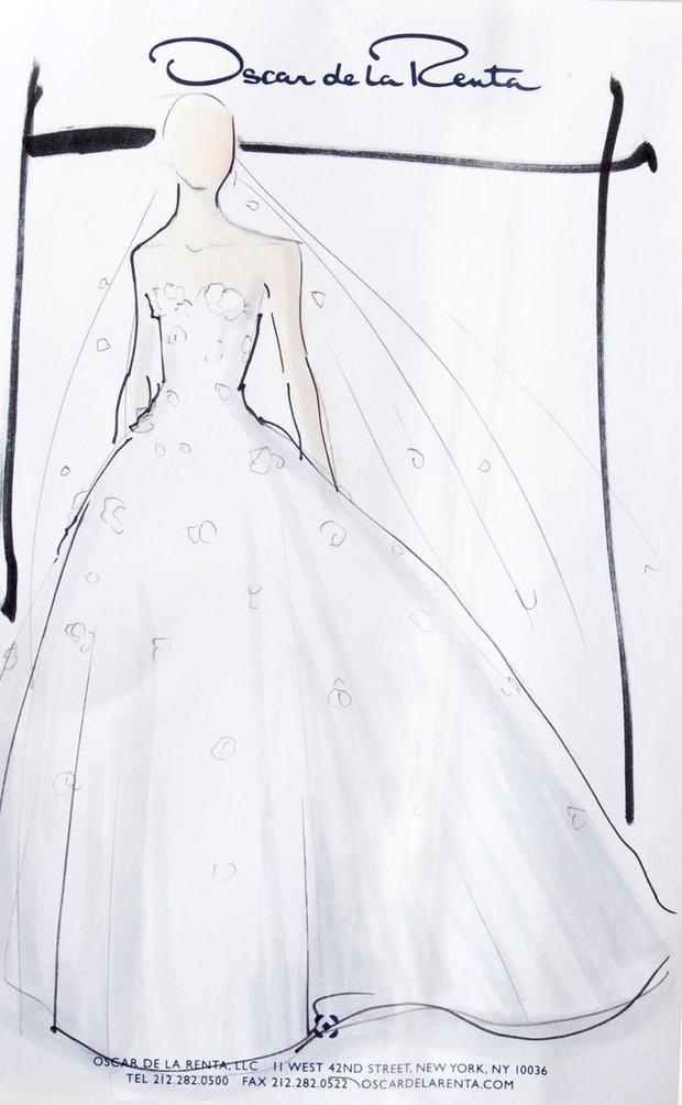Tốn đến 240 giờ thực hiện, bảo sao Vogue khen Min Hyorin có chiếc váy cưới đỉnh nhất Kbiz! - Ảnh 2.