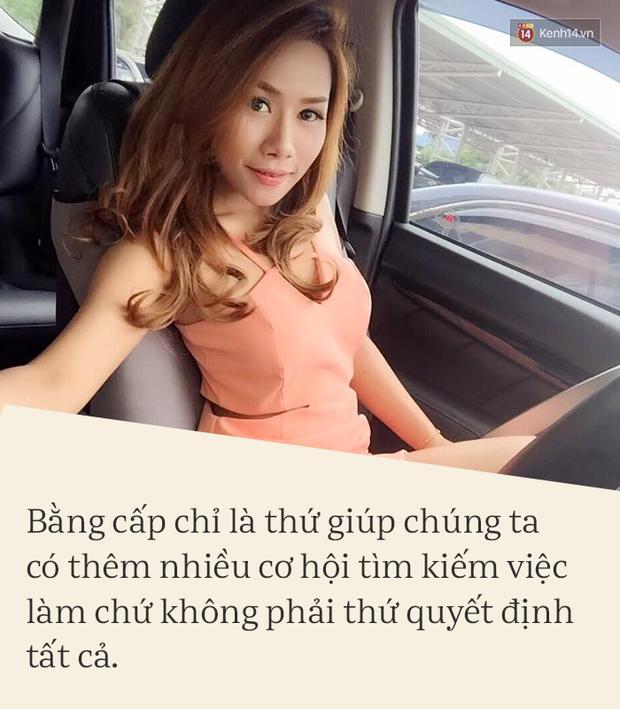 Phỏng vấn độc quyền nữ thạc sĩ bán cơm gà Thái Lan: Bằng cấp giúp ta có thêm cơ hội chứ không quyết định tất cả - Ảnh 5.