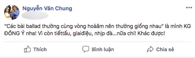 Nguyễn Văn Chung không đồng ý với phát ngôn Ballad thường cùng vòng hòa âm nên dễ giống nhau của Dương Khắc Linh - Ảnh 1.