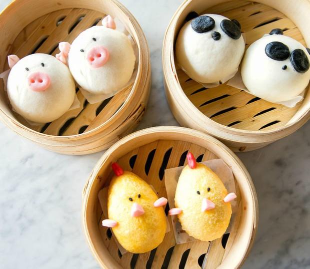 Nhà hàng có những chiếc bánh bao tạo hình con vật làm thực khách không nỡ thưởng thức - Ảnh 2.